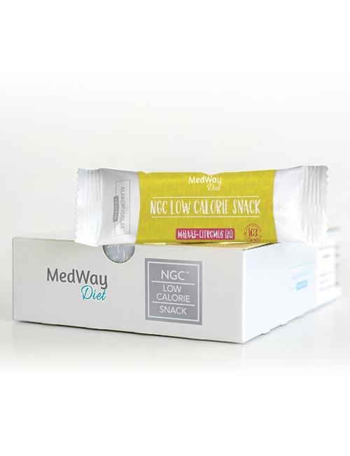 15 darab MedWay Diet szelet - málnás-citromos