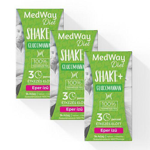 2 hetes MedWay Diet csomag - epres glükomannannal