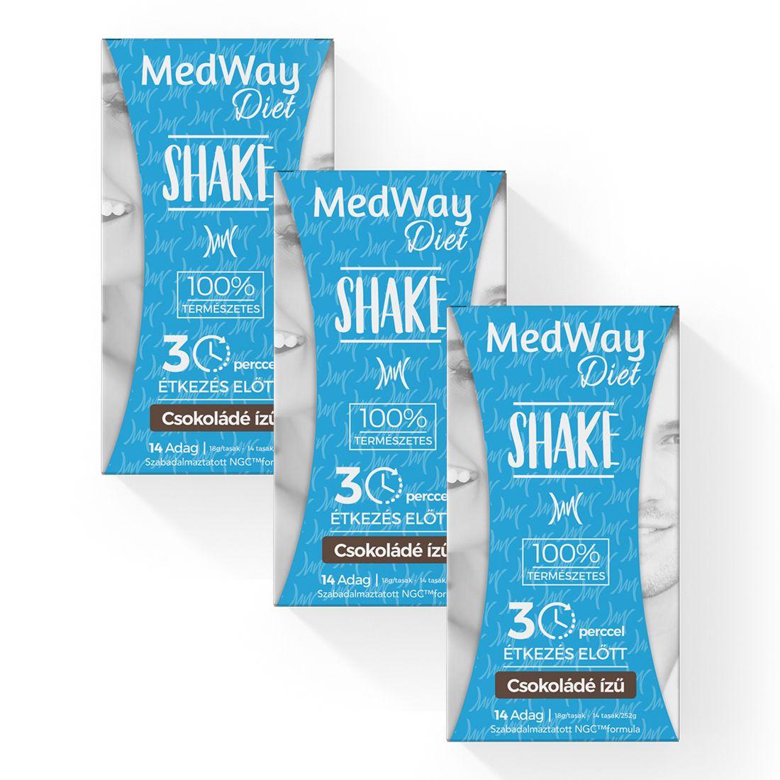2 hetes MedWay Diet csomag - csokis