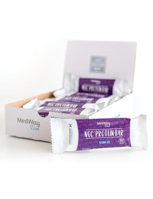 15 darab MedWay Diet protein szelet - áfonya ízű