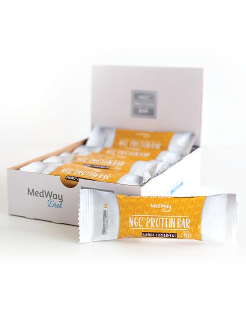 15 darab MedWay Diet protein szelet - banános-csokoládés ízű