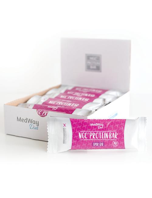 15 darab MedWay Diet protein szelet - eper ízű