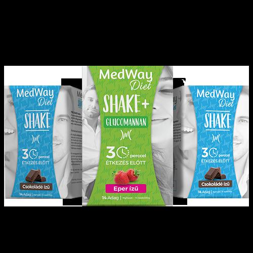 2 hetes MedWay Diet csomag - vegyes